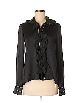 Sunner Long Sleeve Silk Top Size S