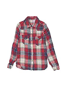 Japna Kids Long Sleeve Button-Down Shirt Size 10