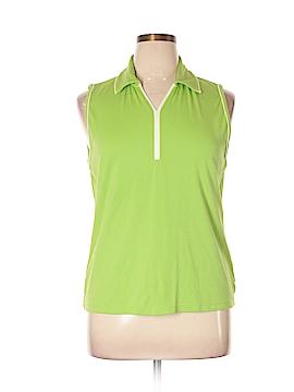 Liz Claiborne Golf Sleeveless Polo Size XL