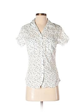 H&M L.O.G.G. Short Sleeve Button-Down Shirt Size 8