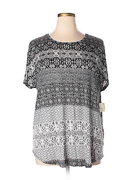 Lucky Brand Short Sleeve T-Shirt Size 2X (Plus)