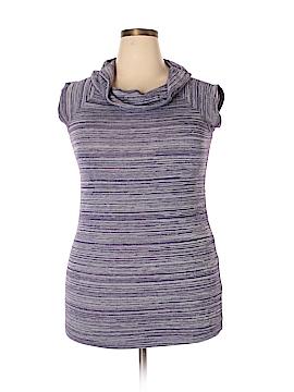 Sixteen Short Sleeve Top Size 1X (Plus)