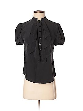 Ali Ro Short Sleeve Silk Top Size 2