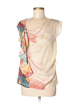 Hype Sleeveless Silk Top Size 2