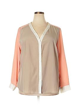 Elementz Long Sleeve Blouse Size 3X (Plus)