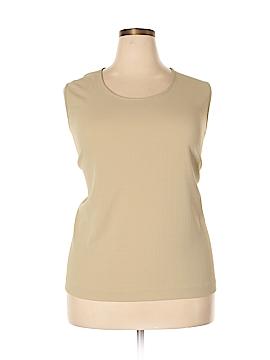 Draper's & Damon's Sleeveless Blouse Size 3X (Plus)