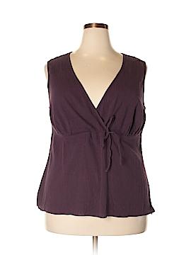 Daisy Fuentes Sleeveless Blouse Size 2X (Plus)