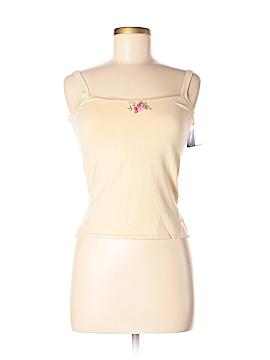 August Silk Sleeveless Silk Top Size P