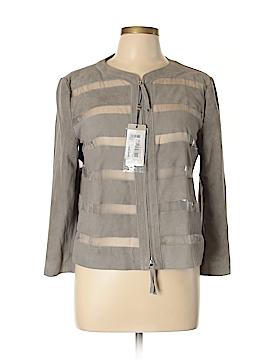 Armani Collezioni Leather Jacket Size 12