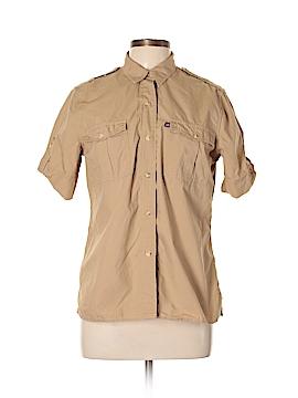 Polo Jeans Co. by Ralph Lauren Short Sleeve Button-Down Shirt Size L