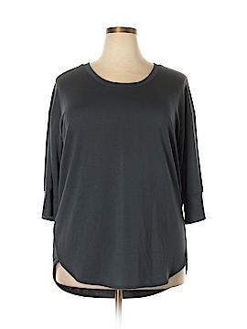 Danskin Now Sweatshirt Size 1X (Plus)