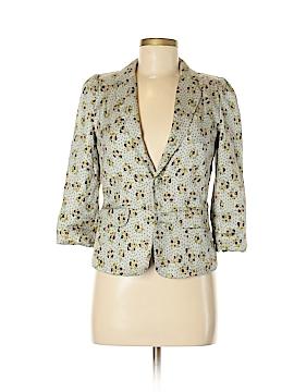 Line & Dot Silk Blazer Size S