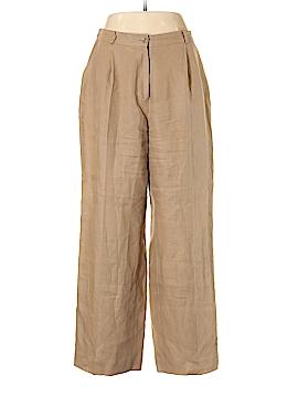 Talbots Linen Pants Size 14 (Petite)