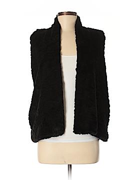 Ann Taylor LOFT Faux Fur Vest Size M