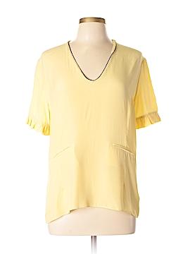 MARNI Short Sleeve Silk Top Size 44 (IT)