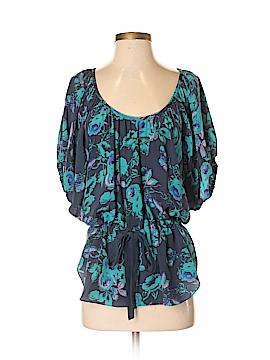 Rebecca Taylor 3/4 Sleeve Silk Top Size 2