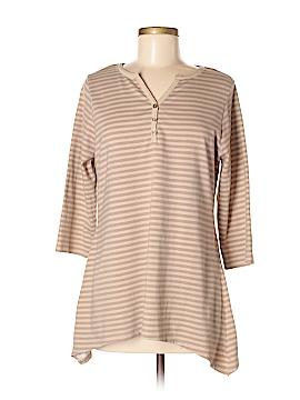 D&Co. 3/4 Sleeve Henley Size S