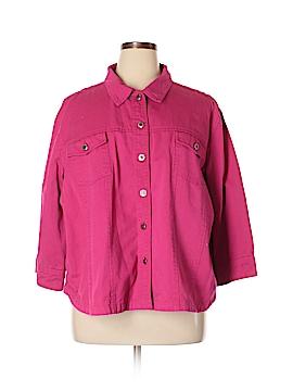 Westbound Denim Jacket Size 3X (Plus)