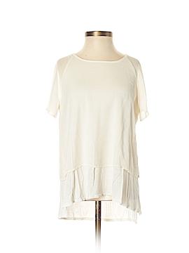 Eric + Lani Short Sleeve Button-Down Shirt Size S
