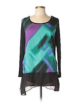 Hayley Matthews Long Sleeve Blouse Size L