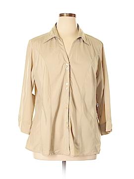 DressBarn 3/4 Sleeve Blouse Size 20 (Plus)