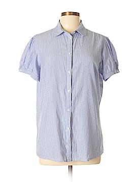 Gap Outlet Short Sleeve Button-Down Shirt Size XL