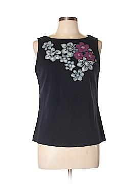 New York & Company Sleeveless T-Shirt Size XL
