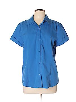Liz Claiborne Short Sleeve Button-Down Shirt Size XL