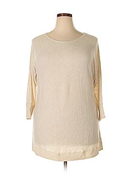 Ava & Viv Pullover Sweater Size 1X (Plus)