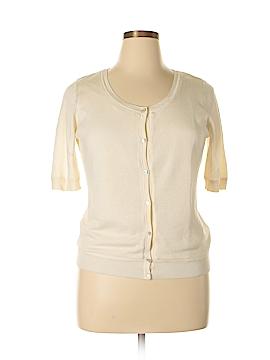 Talbots Silk Cardigan Size L
