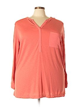 Ava & Viv Long Sleeve Blouse Size 3X (Plus)