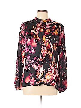 Worthington Long Sleeve Button-Down Shirt Size L