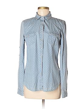 American Rag Cie Long Sleeve Button-Down Shirt Size M