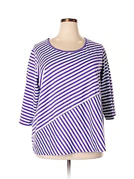 Blair 3/4 Sleeve T-Shirt Size 3X (Plus)