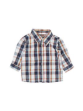 Boyz Wear By Nannette Long Sleeve Button-Down Shirt Size 18 mo