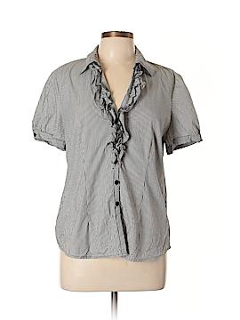 Spense Short Sleeve Button-Down Shirt Size XL