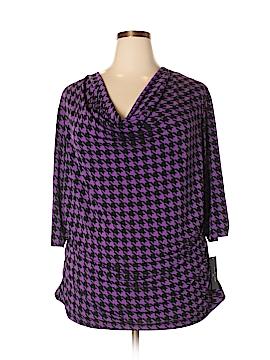 Worthington 3/4 Sleeve Top Size 3X (Plus)