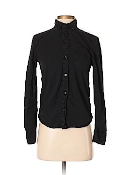 ALTERNATIVE Long Sleeve Button-Down Shirt Size S