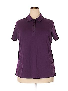 Laura Scott Short Sleeve Polo Size 16/18W