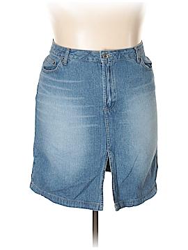 Route 66 Denim Skirt Size 15 - 16