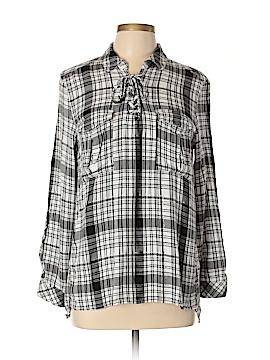 Como Vintage Long Sleeve Blouse Size XL