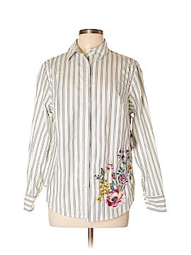 Ava & Viv Long Sleeve Button-Down Shirt Size 0X (Plus)