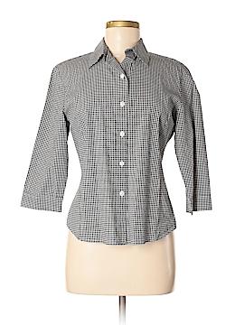 Talbots 3/4 Sleeve Button-Down Shirt Size 6