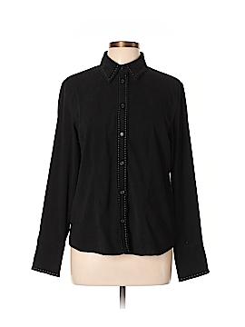 Harve Benard by Benard Haltzman Long Sleeve Button-Down Shirt Size L