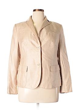 AKRIS for Bergdorf Goodman Silk Blazer Size 14
