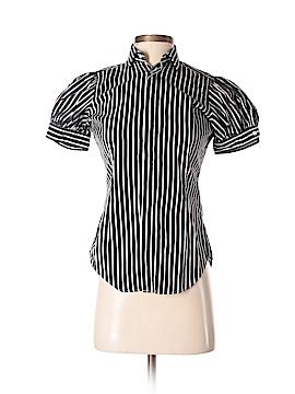 Ralph Lauren Blue Label Short Sleeve Button-Down Shirt Size 2