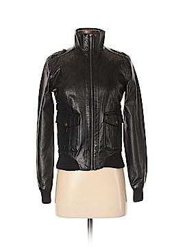 Jack. Faux Leather Jacket Size XS