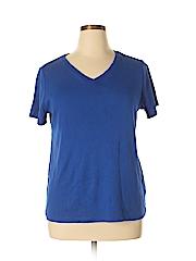 CB Women Short Sleeve T-Shirt Size 1X (Plus)