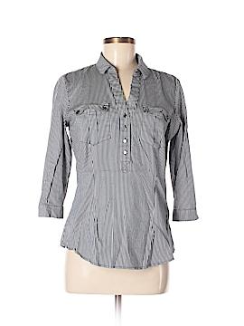 7th Avenue Design Studio New York & Company 3/4 Sleeve Button-Down Shirt Size M
