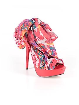 Paprika Heels Size 5 1/2